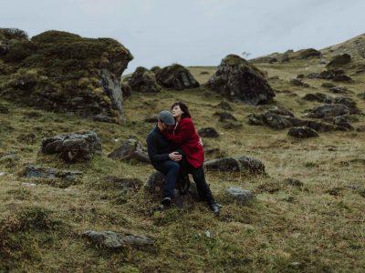 séance couple en savoie couple, baisé, photo de couple Savoie, photographe Chambéry
