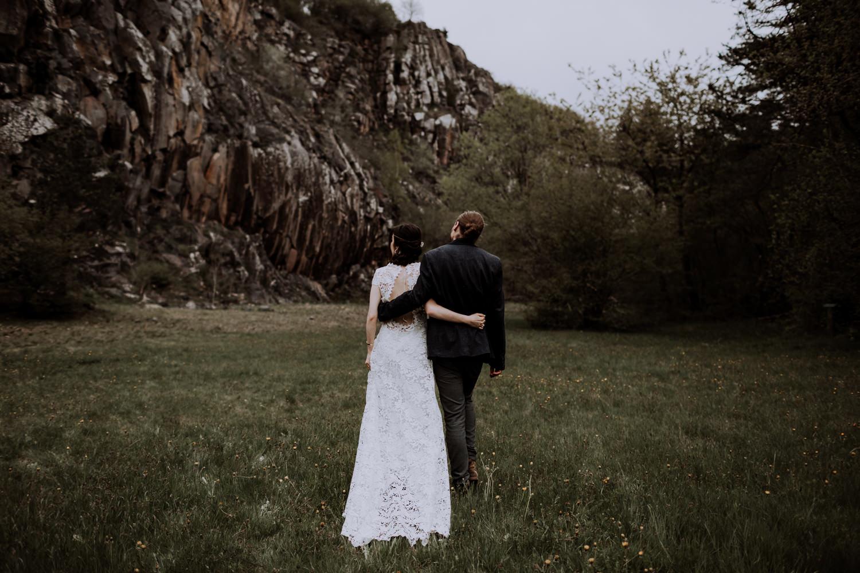 Photographe mariage chambéry- Mariage dans la nature - Engagement - French elopement - Photographe France elopement-9
