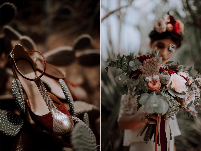 photographe mariage Lyon ,Parc de la tête d'or, Lyon, cactus, portrait, bouquet de la mariée