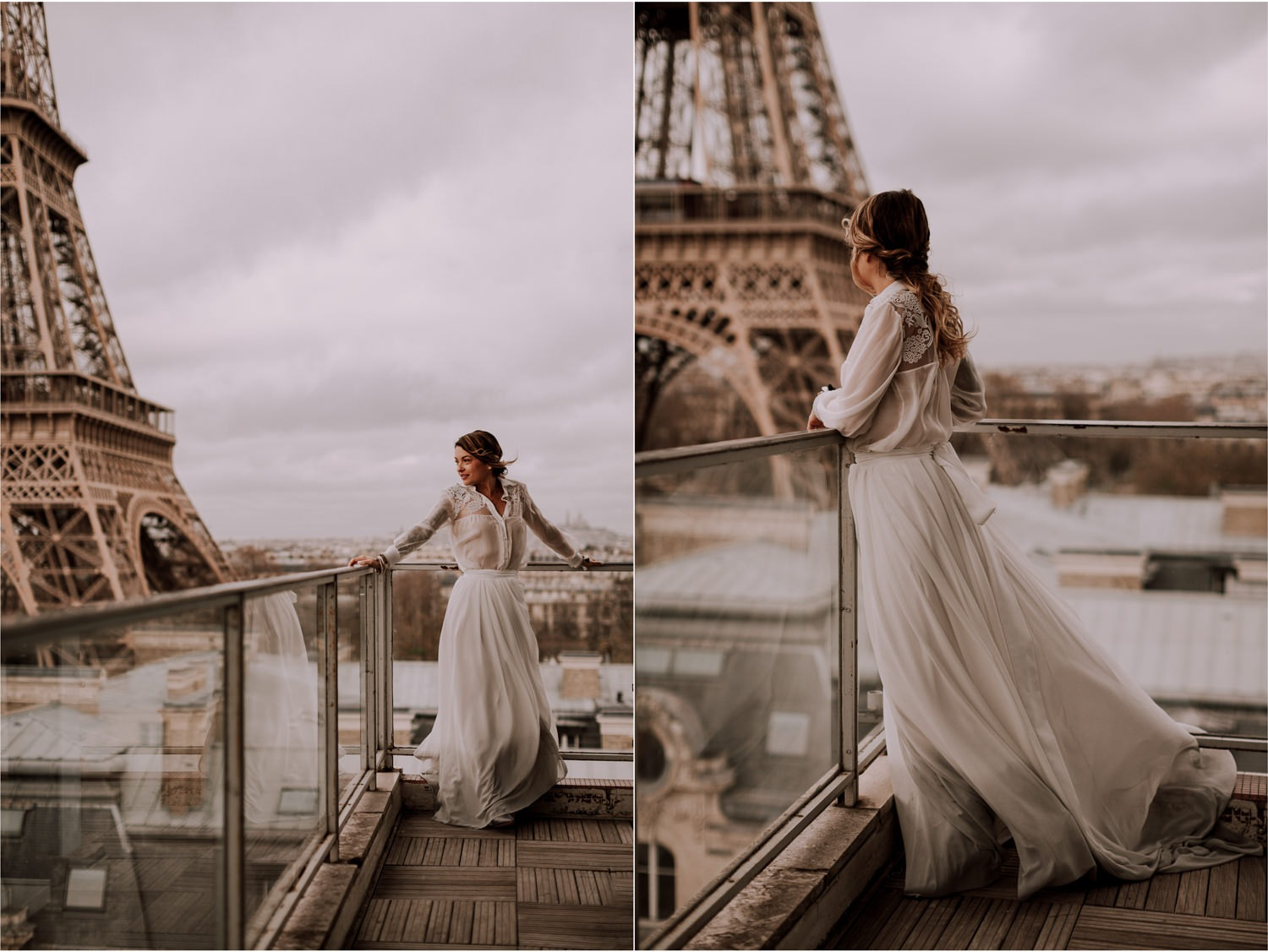 Photographe mariage montmartre - Youandme - Photographe mariage tour eiffel - tour eiffel - Amandine Marque - Photographe mariage Lyon-25