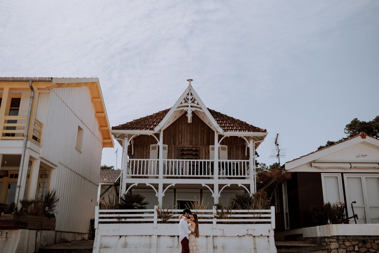 Mariage - arcachon - plage - sunset - wedding - photographe - photographe chambery - destination wedding - rock wedding - sun