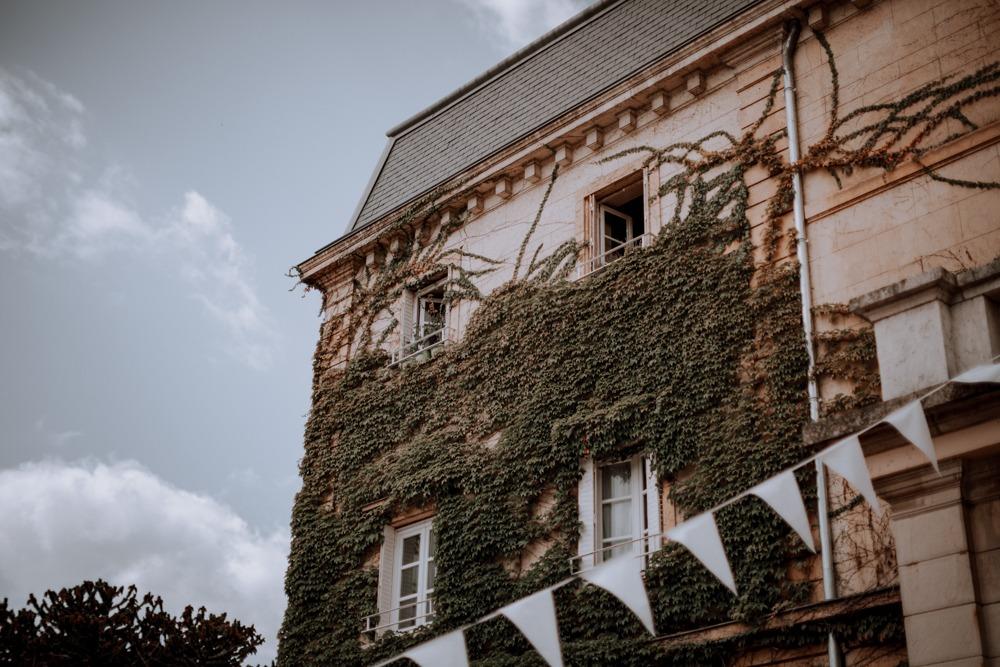 Mariage château de Belle vue, château ,facade