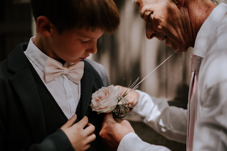 mariage château de Venon, préparatif, fleur mariage,