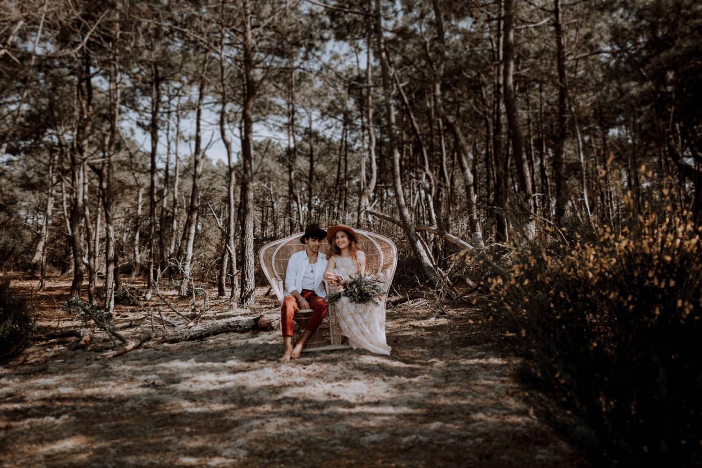 Mariage - arcachon - plage - sunset - wedding - photographe - photographe chambery - destination wedding