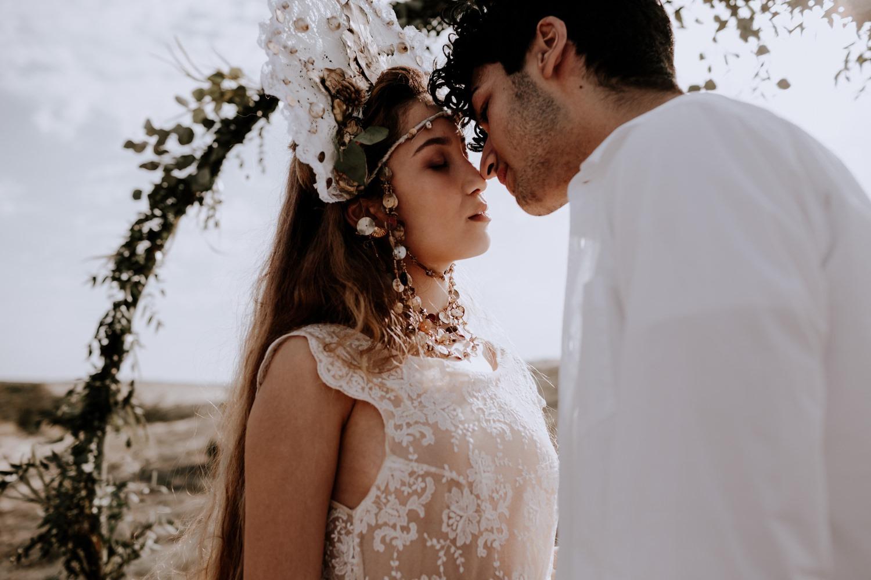 Mariage - arcachon - plage - sunset - wedding - photographe -