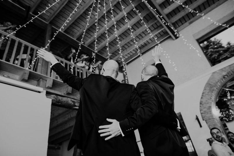 Un mariage à saint Offenge près d'Annecy