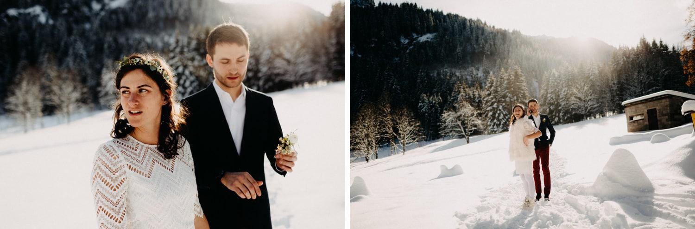 Amandine Marque-photographe-professionel-Grenoble--Megève-Annecy-Chambery-rhone-alpes-mariage-hiver-station-evenement- Mariage en station dans les Alpes