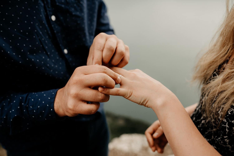 Demande en mariage au lac du Bourget, Séances photos Annecy